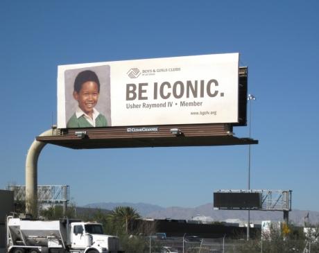 Be Iconic Usher Billboard
